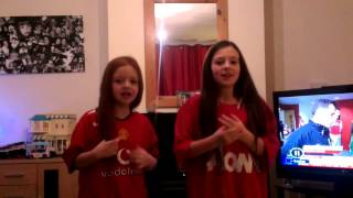 Manchester United calypso Jodie and abbie
