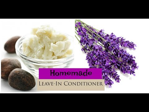 How To: Homemade Leave-In Conditioner | Natural Hair | DIY