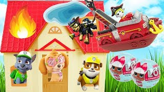 Best Learning Colors Video for Children Paw Patrol Marshall Fire Rescue