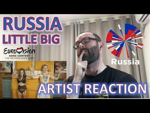 🇷🇺🇷🇺 Russia | Little Big - Artist REACTION | Eurovision 2020 🇷🇺🇷🇺