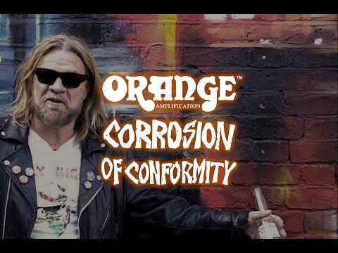 Corrosion of Conformity's Pepper Keenan talks Orange Amplifiers
