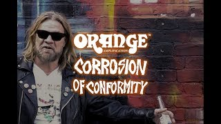 Corrosion of Conformity's Pepper Keenan talks Orange Amplifiers