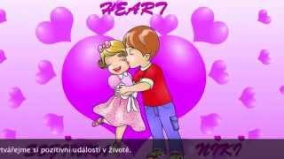 Oblíbené dětské písničky 💓 Srdce 2 💓 s Nikim and Sofinkou. Detské pesničky.