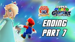 Super Mario 3D All-Stars: Super Mario Galaxy - Gameplay Walkthrough Part 7 - ENDING (Switch)