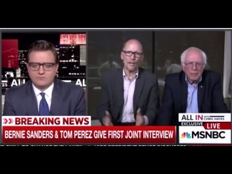 Bernie Sanders & Tom Perez Interview Pt 5 |  Sanders Nails the Issue Perez Couldn