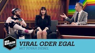 Viral oder egal mit Toyah Diebel   NEO MAGAZIN ROYALE mit Jan Böhmermann - ZDFneo