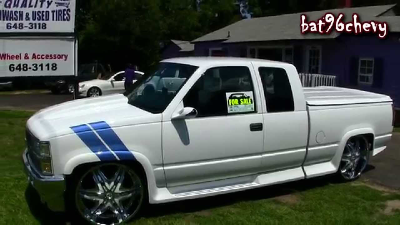 medium resolution of for sale 1996 chevrolet c1500 truck on 26 diablo wheels 1080p hd youtube
