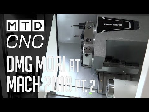 DMG MORI MACH 2018 HIGHLIGHT – CLX Series of Universal Lathes