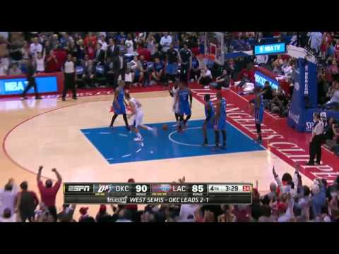 Oklahoma City Thunder vs Los Angeles Clippers Game 4 | May 11, 2014 | NBA Playoffs 2014