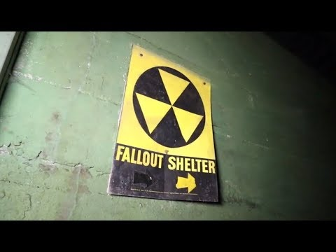 Exploring St. James School At Abandoned St. Coletta - FALLOUT SHELTER FOUND