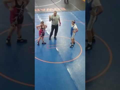 Murphysboro Middle School Wrestling girl beg pt.4