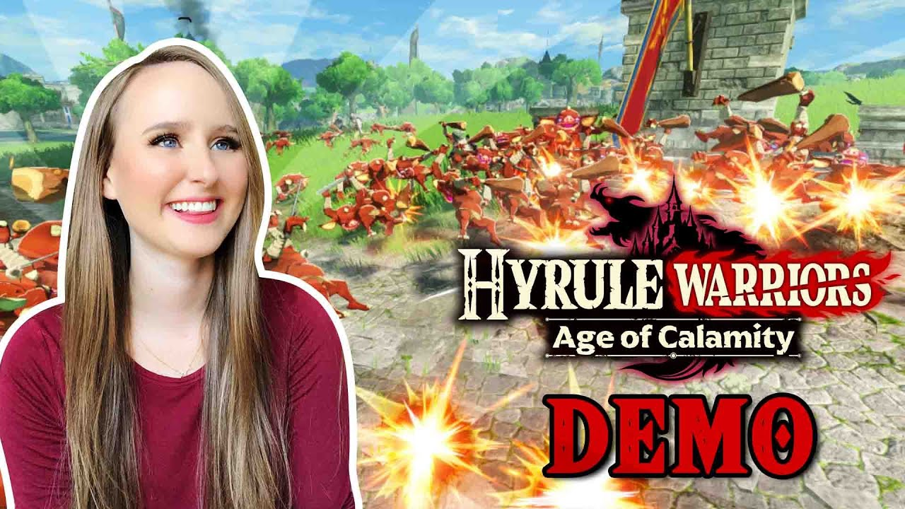 Hyrule Warriors Age Of Calamity Demo Reaction Youtube
