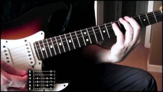 Bush - Machinehead guitar cover WITH TABS