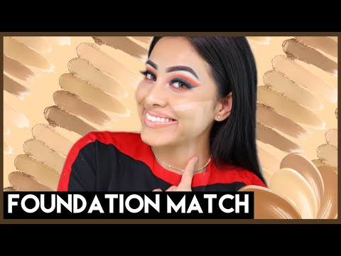 HOW TO FIND YOUR FOUNDATION SHADE! | BEGINNER FRIENDLY