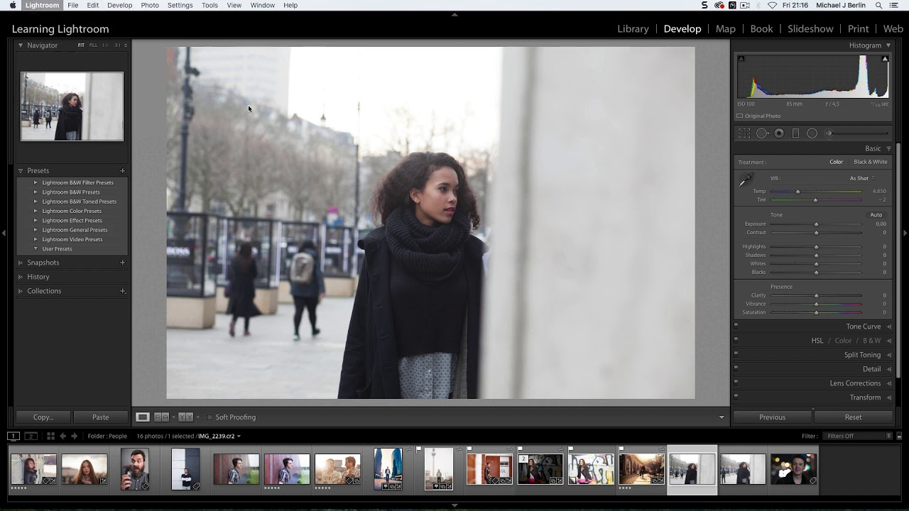Install Presets in Lightroom Classic CC