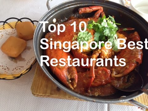 Top 10 Singapore Best Restaurants Tour by HourPhilippines.com