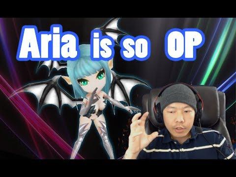Summoners War - Aria so OP!! vs Nina!