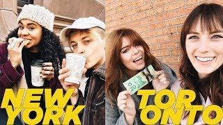 $20 IN NYC vs $20 IN TORONTO | DamonAndJo