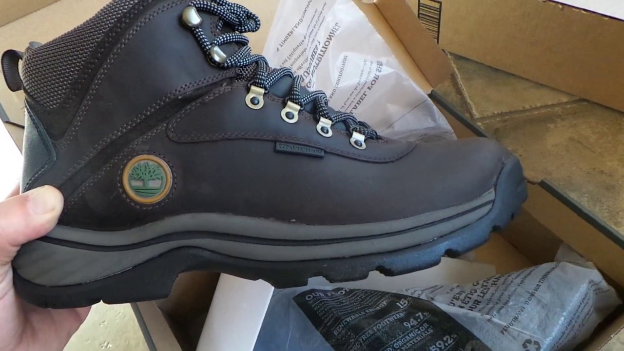 Timberland White Ledge Waterproof Workboot Unboxing - YouTube 8ce8c093b22b