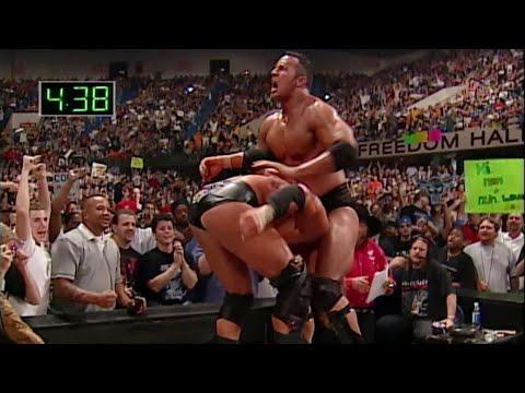 The Rock vs. Triple H - WWE Championship Iron Man Match: Judgment Day 2000