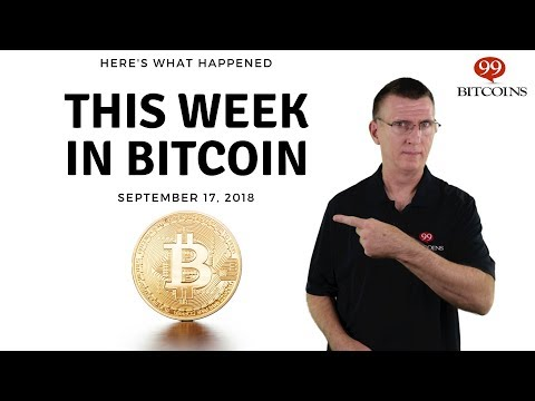 This Week In Bitcoin - Sep 17th, 2018