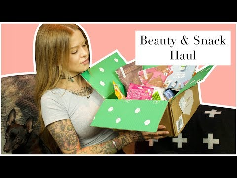 Beauty & Snack Haul   Vegan & Cruelty Free