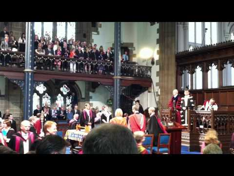 University of Glasgow Graduation Procession
