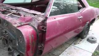 Chuck's Camaro #4: Camaro Pulled out of its Tomb
