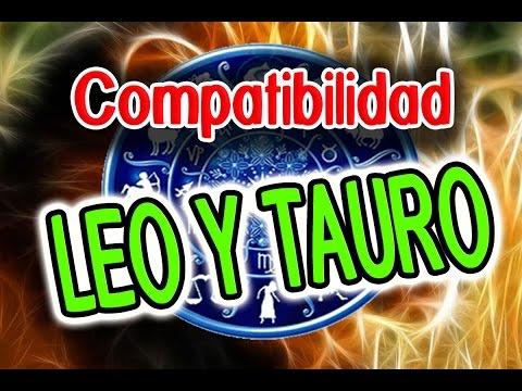 compatibles leo y tauro