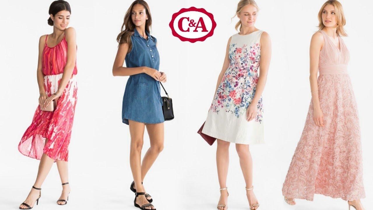 2019 original última venta colores y llamativos Vestidos de Moda de C&A | Primavera Verano 2018: cortos, largos, colores,  estampados, de fiesta
