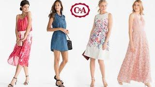 Vestidos de Moda de C&A | Primavera Verano 2018: cortos, largos, colores, estampados, de fiesta