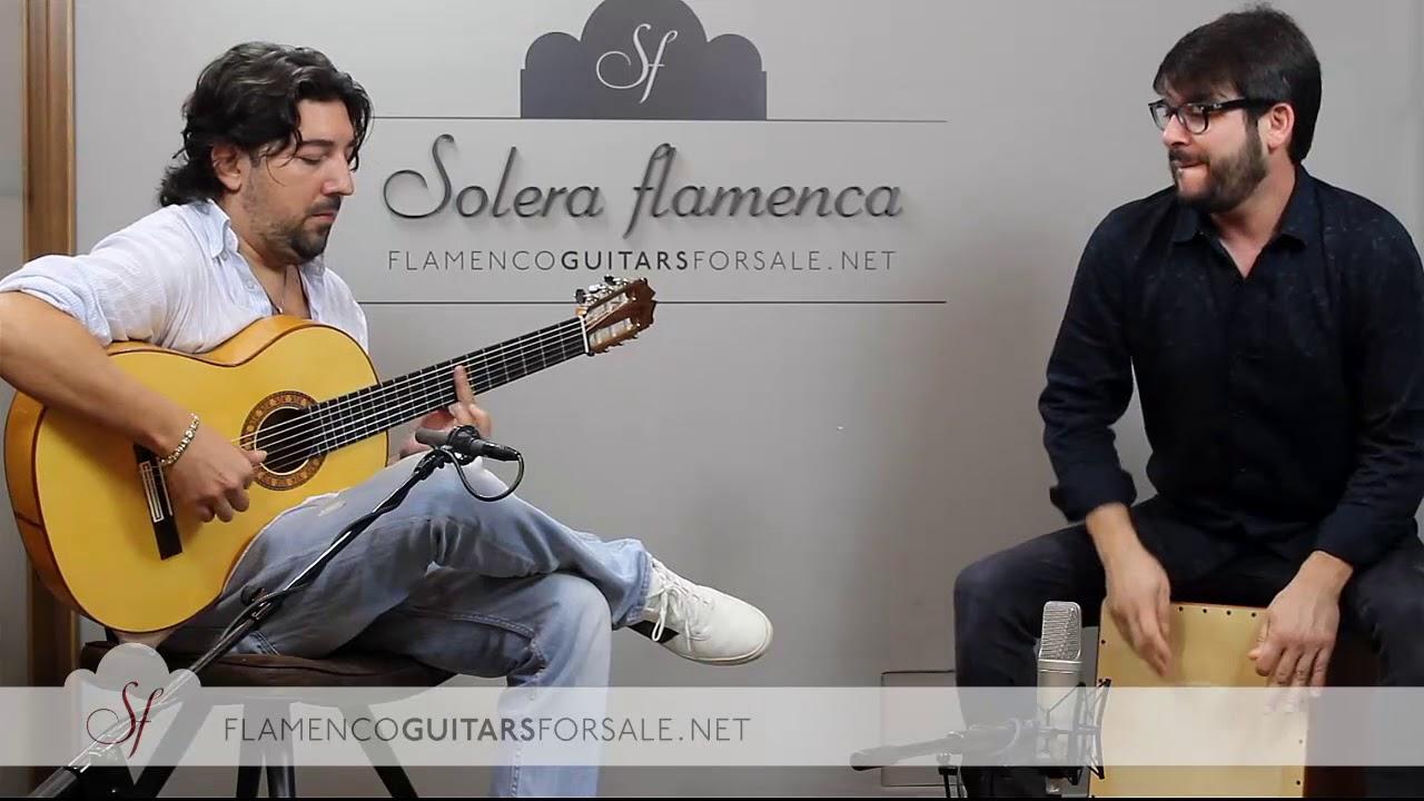 """Download Antonio Rey & Paquito González in Solera Flamenca: """"Dos partes de mi"""". Bulería"""