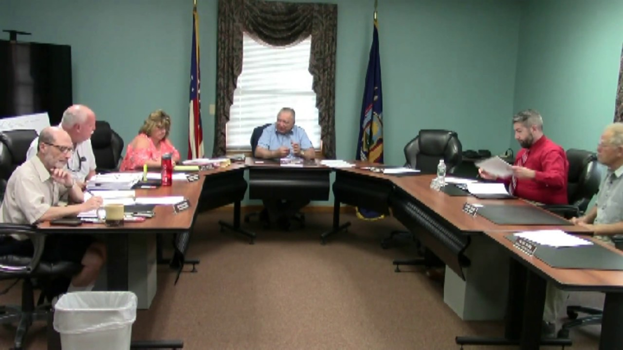 Champlain Town Board Meeting  7-9-19