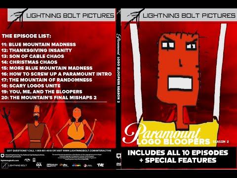 Paramount Logo Bloopers Season 2 DVD Release (2016)
