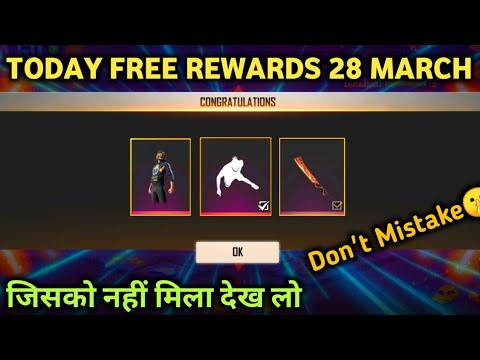 Free fire new event | how to claim one finger pushup emote | 28 march free rewads | new event ff