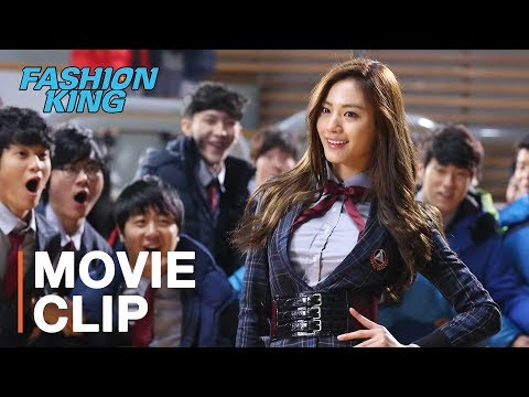 Crazy fashion battle at Korean high school! | Fashion King s