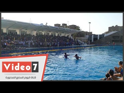 جابر نصار يفتتح حمام السباحة الأولمبى الجديد بملاعب جامعة القاهرة  - 20:22-2017 / 7 / 26