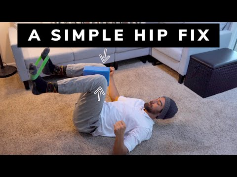 Hip Pain Fix hip pinching and get deeper in your squat