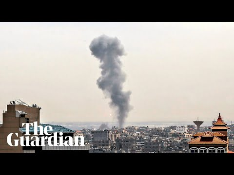 Israel Launches Multiple Airstrikes After Gaza Attacks