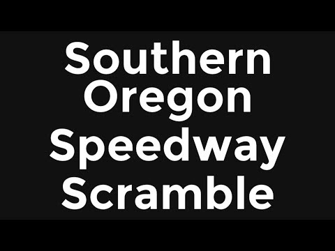 Sprint Car Scramble at the Southern Oregon Speedway!