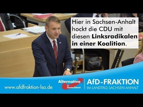 André Poggenburg stellt Heuchler und Ideologen im Parlament bloß!
