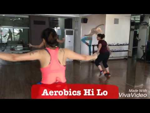 Aerobics Hi Lo At JGS Fitness Centre With Shalini Bhargava