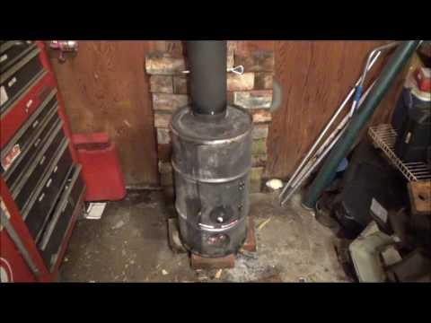My Super Cheap DIY Wood Burner for the Garage