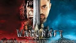 Warcraft-The Beginning   Blu-ray Neuheit   Review   Steelbook   Unboxing