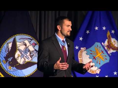 "Salvatore ""Sal"" Giunta, Medal of Honor Recipient - Veterans Summit 2013"