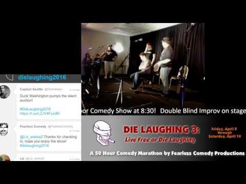 Die Laughing 2016 00:30 Double-Blind Improv