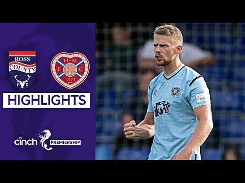Ross County Hearts Goals And Highlights