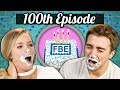 100TH EPISODE! - ICE CREAM CAKE CHALLENGE! | College Kids Vs. Food