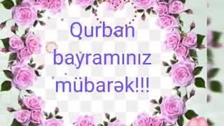 Qurban bayraminiz mubarek tebrik videosu 2020