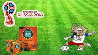 Road To FIFA World Cup 2018 Russia Sticker Album Review